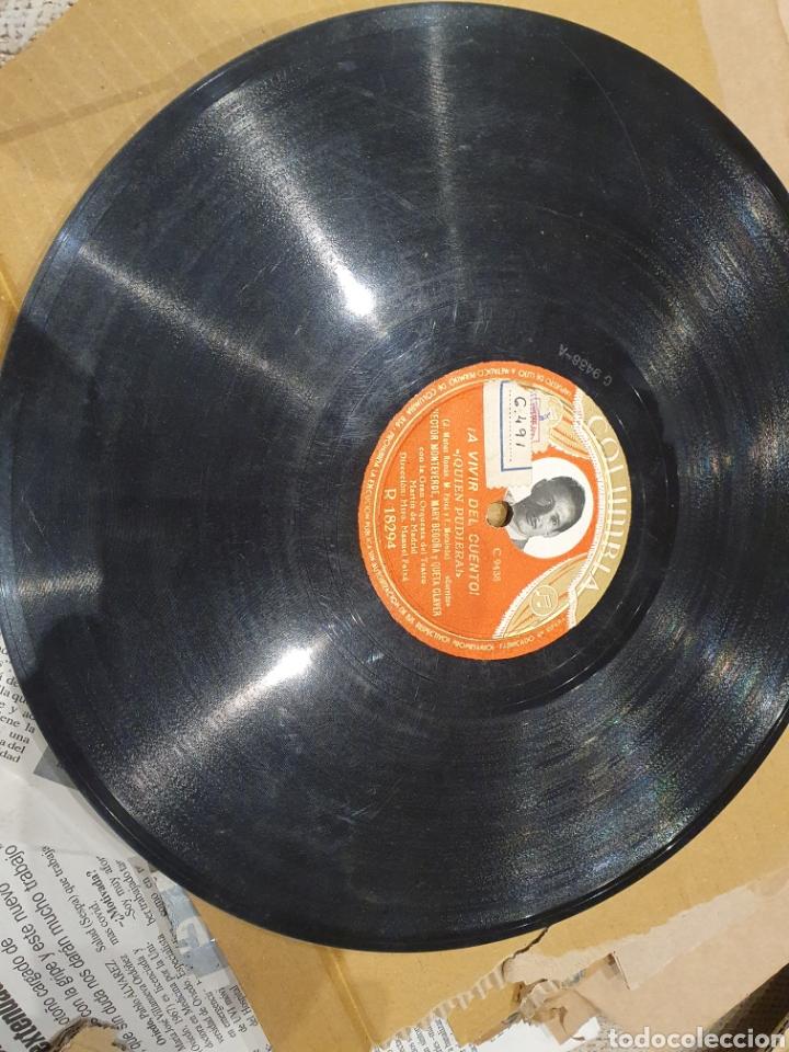 Discos de pizarra: 78 Rpm Hector Monteverde - Foto 2 - 231335980