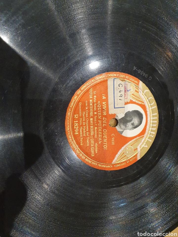 78 RPM HECTOR MONTEVERDE (Música - Discos - Pizarra - Solistas Melódicos y Bailables)