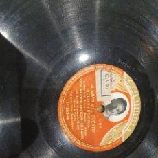 Discos de pizarra: 78 RPM HECTOR MONTEVERDE. Lote 231335980