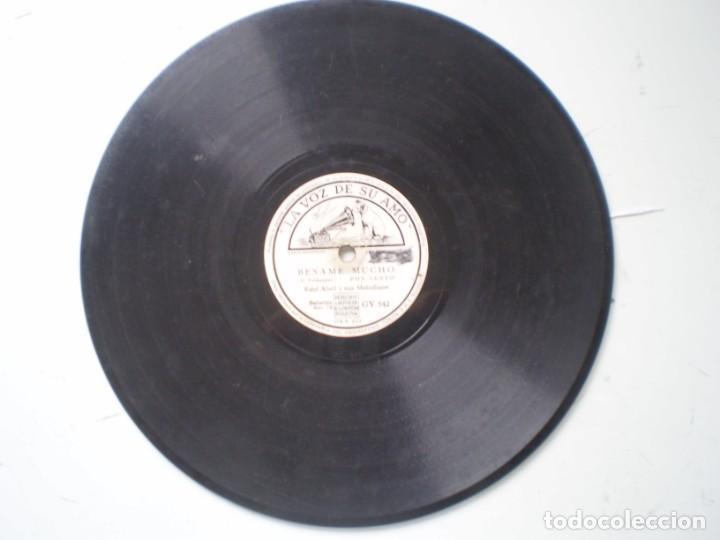 RAUL ABRIL Y SUS MELODIAS BESAME MUCHO / ACERCATE MAS LA VOZ DE SU AMO GY 542 (Música - Discos - Pizarra - Solistas Melódicos y Bailables)