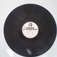 Discos de pizarra: MARI MERCHE Y SU ORQ. TIPICA LA BATUCADA / MEDIA HORA ODEON. Lote 231708200