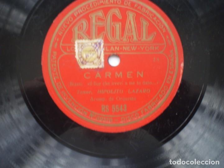 Discos de pizarra: hipolito lazaro carmen / ay.. del ay regal rs5543 - Foto 2 - 232417983
