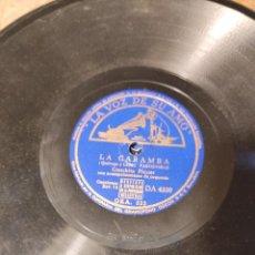 Discos de pizarra: LA CARAMBA / NO ME LLAMES DOLORES CONCHA PIQUER. Lote 232621950