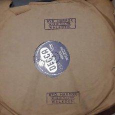 Discos de pizarra: 14-00272- DISCO GRAMOFONO 78 RPM -SELLO DECCA -1 WILLIAM TELL- 2 WILLINGLY - DAVID WHITFIELD. Lote 232889380