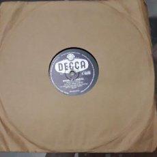 Discos de pizarra: 14-00275-DISCO GRAMOFONO 78 RPM -SELLO DECCA -1 WITHOUT HIM- 2 DREAM OF PARADISE - DAVID WHITFIELD. Lote 232889670