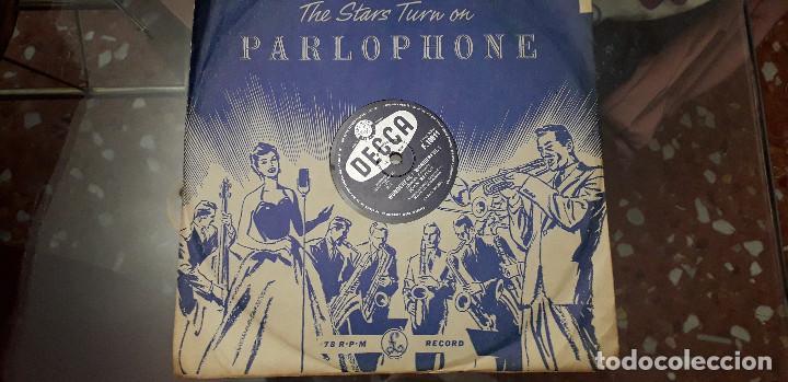 14-00279- DISCO GRAMOFONO 78 RPM -SELLO DECCA -1 WONDERFUL, WONDERFUL- 2 SPEAK FOR YOURSELF JOHN -JO (Música - Discos - Pizarra - Clásica, Ópera, Zarzuela y Marchas)