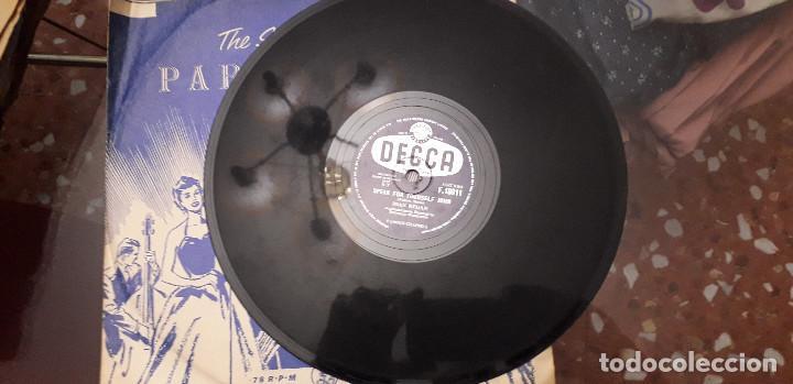 Discos de pizarra: 14-00279- DISCO gramofono 78 RPM -sello decca -1 wonderful, wonderful- 2 speak for yourself john -jo - Foto 3 - 232889967