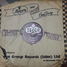 Discos de pizarra: 14-00280- DISCO GRAMOFONO 78 RPM -SELLO DECCA -1 LONELY BALLERINA- 2 LAZY GONDOLIER - MANTOVANI. Lote 232890045