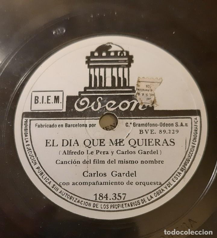 CARLOS GARDEL (Música - Discos - Pizarra - Solistas Melódicos y Bailables)