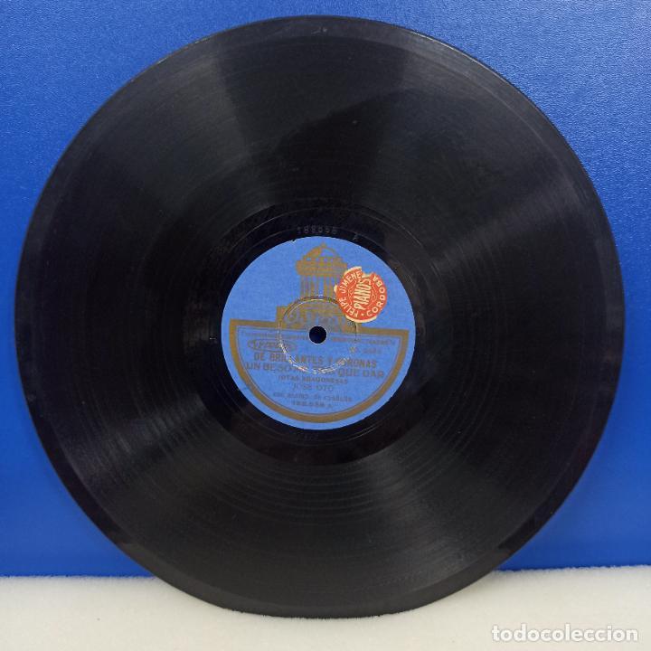 Discos de pizarra: ANTIGUO DISCO PIZARRA ESO ES UN ARAGONES + DE BRILLANTES Y CORONAS JOSE SOTO - Foto 2 - 234734755