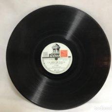 Discos de pizarra: DISCO DE PIZARRA DE GLORIA ROMERO, LA NIÑA DE FUEGO - TOROS EN SANLUCAR. Lote 235144880