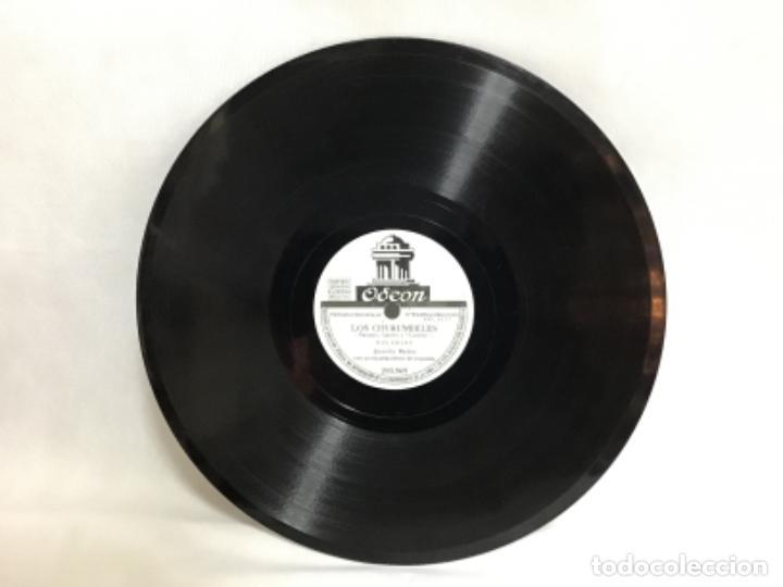 Discos de pizarra: DISCO DE PIZARRA DE JUANITA REINA, CRISTO CORDOBÉ - LOS CHURUMBELES - Foto 2 - 235154895