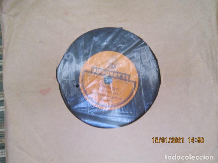 Discos de pizarra: NIÑO MARCHENA - FANDANGO / SOLEA - SINGLE PIZARRA DE 6 PULGAS - ODEONETTE RECORDS - Foto 6 - 235296990
