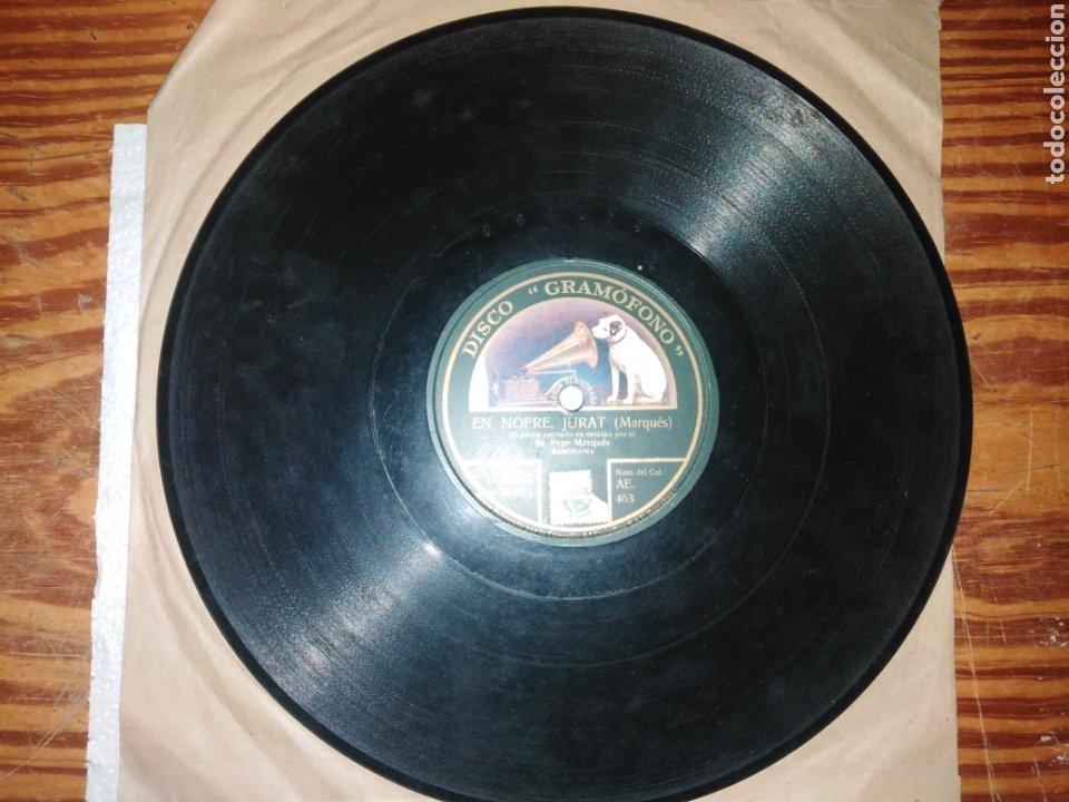 Discos de pizarra: Disco de Piedra. En Nofre, Jurat (MARQUÉS) - Foto 2 - 235553960