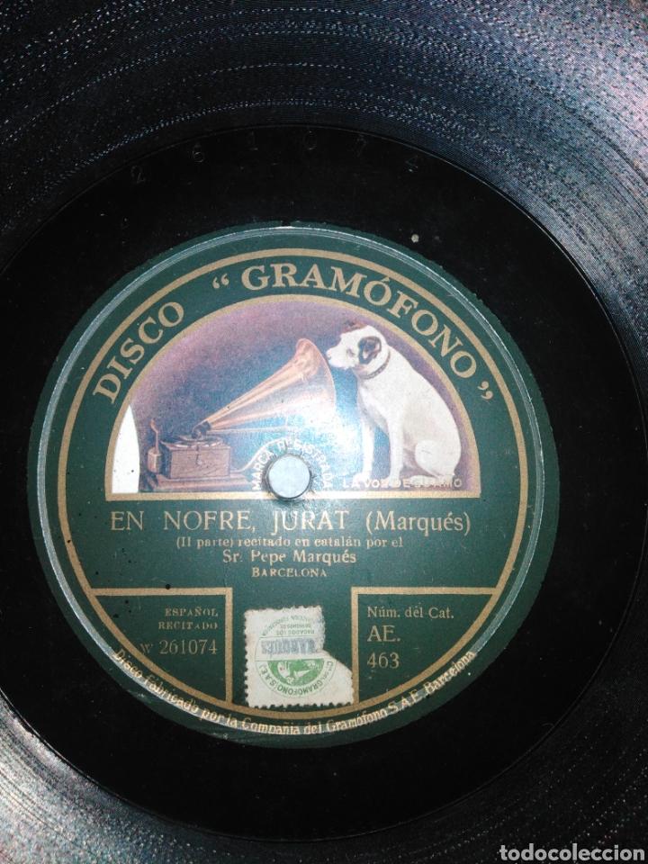 Discos de pizarra: Disco de Piedra. En Nofre, Jurat (MARQUÉS) - Foto 3 - 235553960
