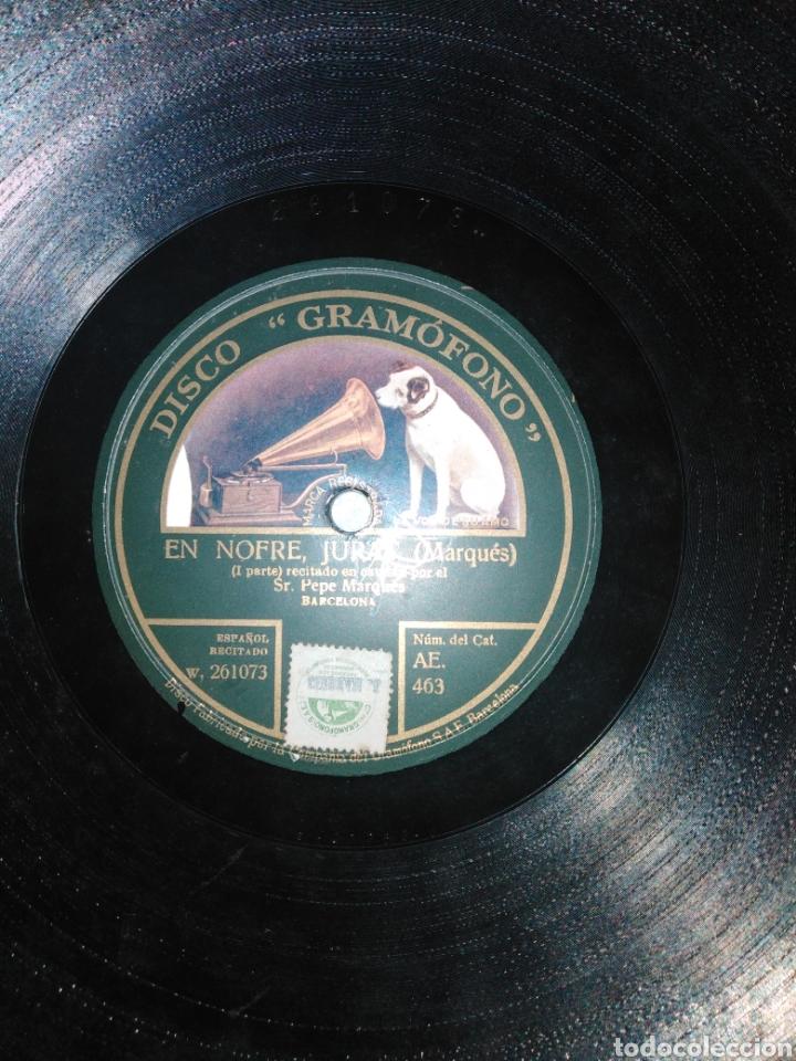 Discos de pizarra: Disco de Piedra. En Nofre, Jurat (MARQUÉS) - Foto 4 - 235553960