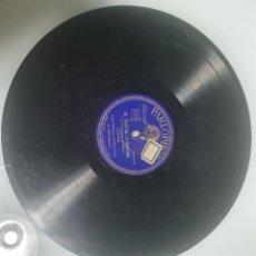 Discos de pizarra: DISCO DE PIZARRA EL TRIO DE LA BENCINA. Lote 235554920
