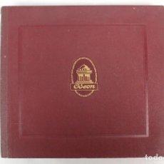 Discos de pizarra: ANTIGUO ALBUM MARCA ODEON + 12 DISCOS DE PIZARRA-COLECIONISTAS. Lote 235992500