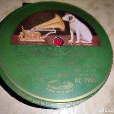 Discos de pizarra: MANUEL VALLEJO FANDANGOS POR SOLEA/MEDIA GRANADINA 10'' 25CTMS LA VOZ DE SU AMO AE2908. Lote 236009405
