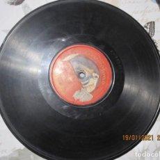 Discos de pizarra: DISCO DE PIZARRA CATTERTON GRAVADO POR UNA SOLA CARA DE 26 CENTIMETROS. Lote 236029625