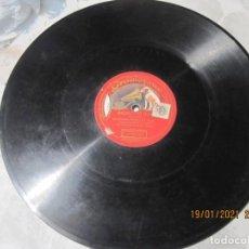 Discos de pizarra: DISCO DE PIZARRA RIGOLETTO ( VERDI ) GRAVADO POR UNA SOLA CARA DE 30 CENTIMETROS. Lote 236031505