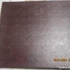 Discos de pizarra: ANTIGUO ALBUM DE DISCOS DE PIZARRA DE 30 CENTIMETROS Y 78 REVOLUCIONES. Lote 236033165