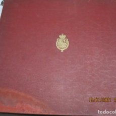 Discos de pizarra: ANTIGUO ALBUM DE DISCOS DE PIZARRA DE 30 CENTIMETROS Y 78 REVOLUCIONES. Lote 236034495