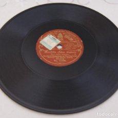 Discos de pizarra: DISCO PIZARRA GRAMÓFONO ODEON LA GATITA BLANCA Y BOMBITA CHICO Nº. 11120. Lote 236143235