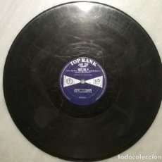 Discos de pizarra: JOHNNY DANKWORTH. WE ARE THE LAMBERT BOYS/ DUET FOT 16. TOP RANK, UK 1959 PIZARRA 10'' 78 RPM. Lote 236267045