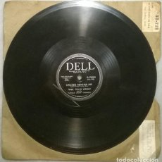 Discos de pizarra: TENN, CHUCK WRIGHT. DIMES FOR THE BABIES/ CHICKEN HEARTED ME. DELL, USA PIZARRA 10'' 78 RPM. Lote 236268305