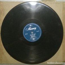 Discos de pizarra: FREDDIE BELL & THE BELLBOYS. BIG BAD WOLF/ ROCKIN' THE POLONAISE. MERCURY, UK 1955 10'' 78 RPM. Lote 236270620