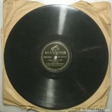 Discos de pizarra: ERSKINE HAWKINS. FOOL THAT I AM/ WIGGLE WORM. RCA-VICTOR, USA 1947 PIZARRA 10'' 78 RPM. Lote 236463305