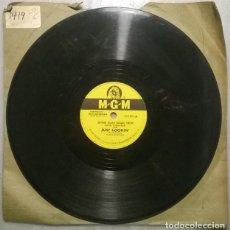 Discos de pizarra: ARTHUR (GUITAR BOOGIE) SMITH. JUST LOOKIN/ FIDDLE-FADDLE. MGM, USA 1952 PIZARRA 10'' 78 RPM. Lote 236463560