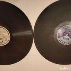 Discos de pizarra: LOTE DOS DISCOS DE PIZARRA COLUMBIA Y PACIFIC. Lote 236490180
