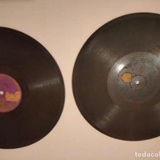 Discos de pizarra: LOTE DOS DISCOS DE PIZARRA REGAL Y PARLOPHON. Lote 236490355