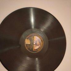 Discos de pizarra: DISCO DE PIZARRA GRAMOFONO LA VOZ DE SU AMO. Lote 236491085