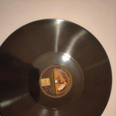 Discos de pizarra: DISCO DE PIZARRA GRAMOFONO LA VOZ DE SU AMO. Lote 236491250