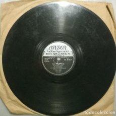 Discos de pizarra: PAT BOONE. TUTTI FRUTTI/ I'LL BE HOME. LONDON, UK 1956 PIZARRA 10'' 78 RPM. Lote 236661495