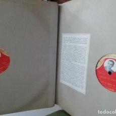 Discos de pizarra: ALBUM DISCO DE PIZARRA 6 DISCOS ZARZUELA. Lote 236790495