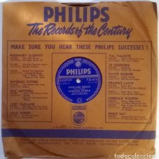 Discos de pizarra: WINIFRED ATWELL. HIGHLAND BOOGIE/ CONCERTO FOR ROMANCE. PHILIPS UK P.B.410 PIZARRA 10'' 78 RPM. Lote 236833310