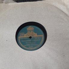 Discos de pizarra: ANTIGUO DISCO DE PIZARRA DE GRACIA DE TRIANA. Lote 236927775