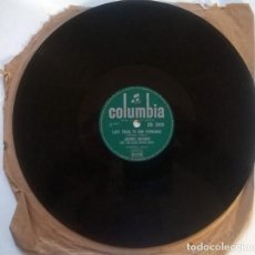 Discos de pizarra: JOHNNY DUNCAN & HIS BLUE GRASS BOYS. ROCK-A-BILLY BABY/ LAST TRAIN TO SAN FERNANDO. COLUMBIA UK 1957. Lote 237005150