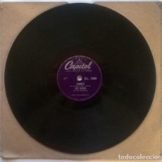 Discos de pizarra: LOU BUSCH. RAINBOW'S END/ ZAMBEZI. CAPITOL, UK 1956 10'' PIZARRA 78 RPM. Lote 237005995