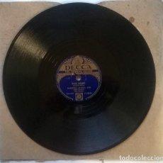 Discos de pizarra: WINIFRED ATWELL. BRITANNIA RAG/ DIXIE BOOGIE. DECCA, UK 1952 PIZARRA 10'' 78 RPM. Lote 237006755