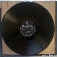 Discos de pizarra: MITCHELL TOROK. I WISH I WAS LITTLE BIT YOUNGER/ WHEN MEXICO GAVE UP THE RHUMBA. BRUNSWICK UK 1956. Lote 237007955