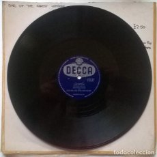 Discos de pizarra: TED HEATH & HIS MUSIC & DENNIS LOTIS.CHAIN REACTION/ GO GO GO. DECCA, UK 1955 PIZARRA 10'' 78 RPM. Lote 237195420