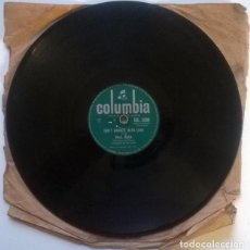 Discos de pizarra: PAUL ANKA. DIANA/ DON'T GAMBLE WITH LOVE. COLUMBIA, UK 1957 PIZARRA 10'' 78 RPM. Lote 237196740