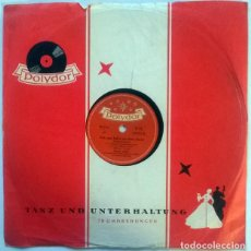 Discos de pizarra: WERNER MÜLLER. BARBARA TANZT MAMBOLA/ ACH WAS HAB'N SIE DENN DAVON. POLYDOR, GERMANY 1955 10'' 78 RP. Lote 237198435