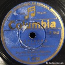 Discos de pizarra: ORQUESTA SINFÓNICA COLUMBIA – KATIUSKA. Lote 237300915