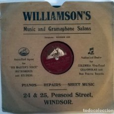 Discos de pizarra: PÉREZ PRADO & ORCHESTRA. MARIA ELENA-RUMBA/ CHERRY PINK & APPLE BLOSSOM WHITE. HMV 1955 10'' 78 RPM. Lote 237398805